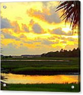 Shoreline Sunset 3 Acrylic Print