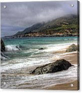 Shores Of Big Sur Acrylic Print by Shawn Everhart