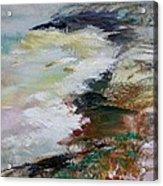 Shores Of Half Moon Bay Acrylic Print