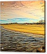 Shores Of Lake Michigan Acrylic Print