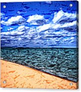 Shores Of Lake Superior Acrylic Print