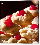 Shortbread Cookies Acrylic Print
