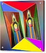 Shots Shifted - Le Pat 5 Acrylic Print