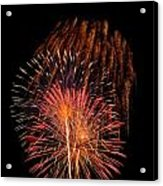 Shower Of Fireworks Acrylic Print