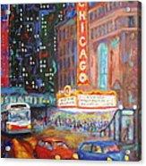 Showtime Acrylic Print
