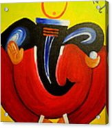 Shree Ganesh Acrylic Print