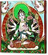 Shri Ashtabhuja Mata Acrylic Print