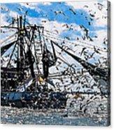 Shrimp Boat Acrylic Print