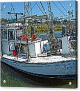 Shrimp Boat - Southern Catch Acrylic Print