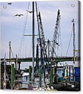 Shrimp Boats At Lazaretto Creek Acrylic Print