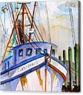 Shrimp Fishing Boat Acrylic Print