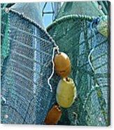 Shrimp Net Close Up Acrylic Print