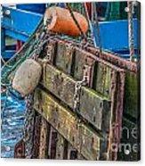 Shrimpboat Tools Of The Trade Acrylic Print