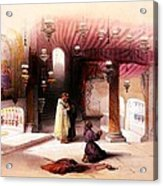 Shrine Of The Nativity Bethlehem April 6th 1839 Acrylic Print