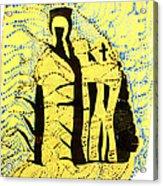 Shroud Of Jesus Acrylic Print