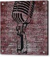 Shure 55s On Music Acrylic Print