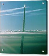 Shuttle Columbia Launch On Sts-32 Acrylic Print
