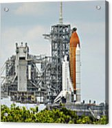 Shuttle Endeavour Is Prepared For Launch Acrylic Print
