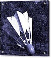 Shuttlecock Blues Acrylic Print