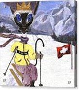 Siamese Queen Of Switzerland Acrylic Print