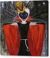 Siamese Queen Of Transylvania Acrylic Print by Jamie Frier