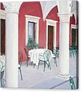 Sibenik Cafe Croatia Acrylic Print