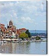 Sibenik Town On Adriatic Sea  Acrylic Print