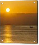 Sicilian Dawn Acrylic Print