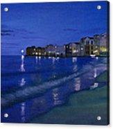 Sicilian Sunset Acrylic Print
