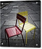 Side By Side Acrylic Print by Russell Styles