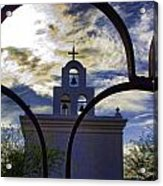 Side Chapel Acrylic Print