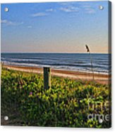 Side Of The Road In Flagler Acrylic Print