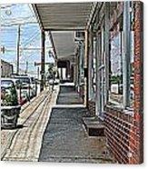 Sidewalk Acrylic Print by Beverly Hammond