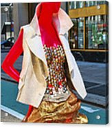 Sidewalk Catwalk 4 A Acrylic Print