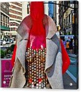 Sidewalk Catwalk 8 Acrylic Print