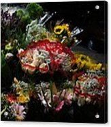 Sidewalk Flower Shop Acrylic Print