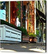 Sidewalk In Saint Helena Acrylic Print