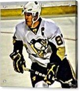 Sidney Crosby Acrylic Print