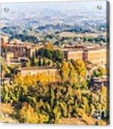 Siena Countryside Acrylic Print