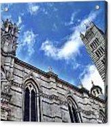 Siena Duomo Acrylic Print