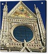 Sienna Cathedral Acrylic Print