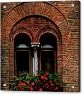 Sienna Window Acrylic Print by Patrick J Osborne