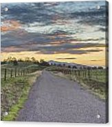 Sierra Foothills Acrylic Print