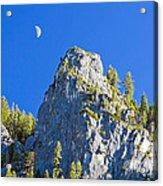 Sierra Moonrise Acrylic Print