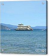 Sierra Rose Yacht On Lake Tahoe Acrylic Print