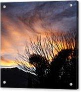 Sierra Sunset Acrylic Print