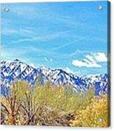 Sierras Peaking Acrylic Print