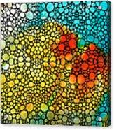 Siesta Sunrise - Stone Rock'd Art Painting Acrylic Print