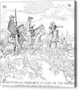 Sieur De La Verendrye (1685-1749) Acrylic Print
