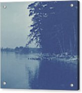 Sight Over A Lake, Anonymous Acrylic Print